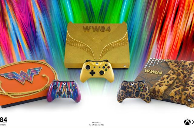 Microsoft made three limited-edition Wonder Woman Xbox One X consoles