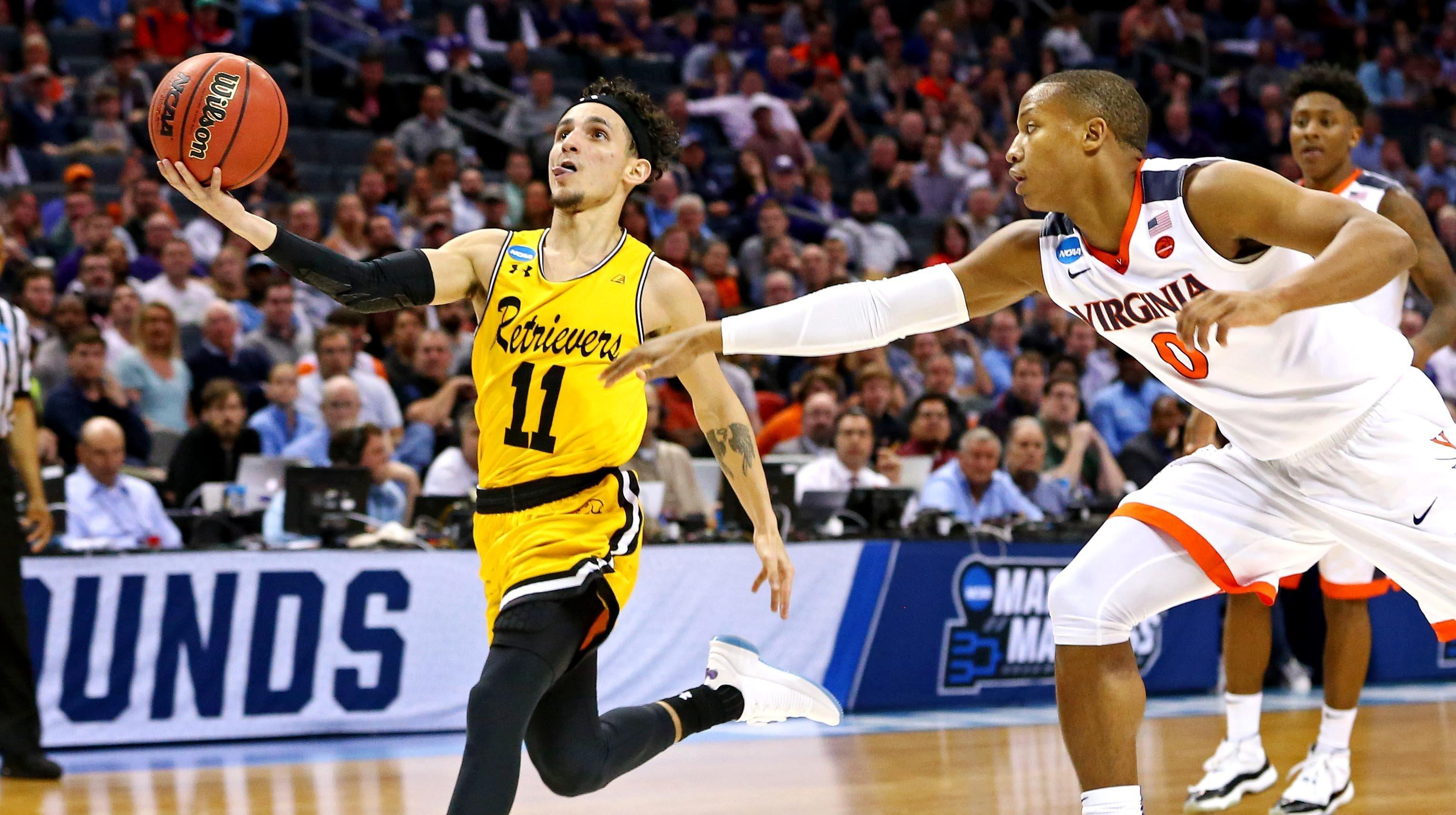 No. 16 UMBC Defeats No. 1 Virginia In Biggest Upset In Men's NCAA Tournament History
