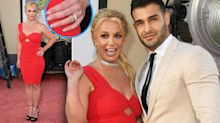 Britney Spears & Sam Asghari Spark Engagement Rumors During 1st Red Carpet as Couple