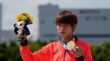 日本選手堀米雄斗獲得滑板項目首金