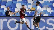 Napoli 1-1 Cagliari: Gattuso's side concede injury time equaliser