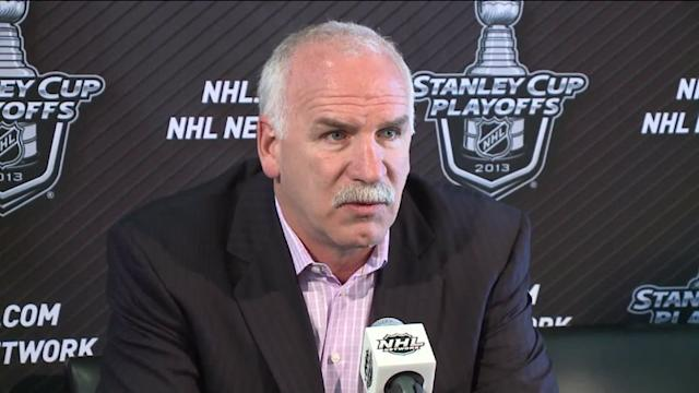 RAW: Blackhawks coach Quenneville speaks before Game 5