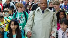 John Lewis at Comic-Con: Late civil rights icon once cosplayed as himself and lead children in march