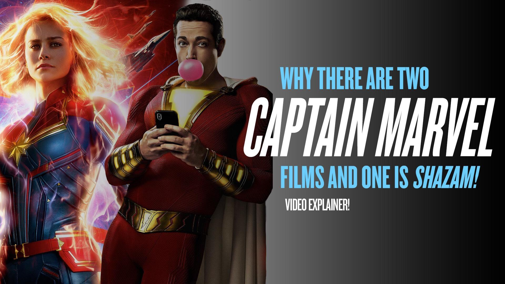 The Twisted Story Of How We Wound Up With 2 Captain Marvel Movies And Why One Is Called Shazam