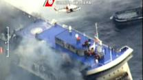 Fatal Ferry Fire Becomes Evacuation Emergency