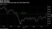 Hong Kong Stocks Enter Bull Market After $1.1 Trillion Rebound