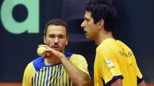 Melo e Soares se preparam para dar a última cartada pela medalha olímpica no tênis