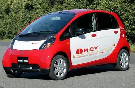 Mitsubishi's i MiEV electric car to be tested in California