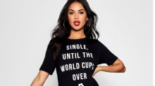 'Shop while he watches the footy': Boohoo apologizes for running 'sexist' World Cup clothing campaign