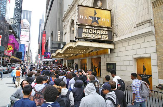 'Hamilton' battles ticket bots with a hand from Ticketmaster