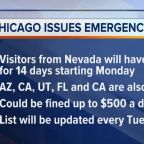 Chicago issues emergency travel order