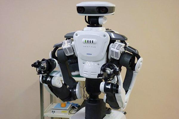 Kawada NEXTAGE humanoid robot just wants to help out (video)