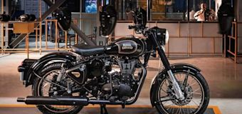 Royal Enfield introduces limited-run Classic 500 Tribute Black motorcycle