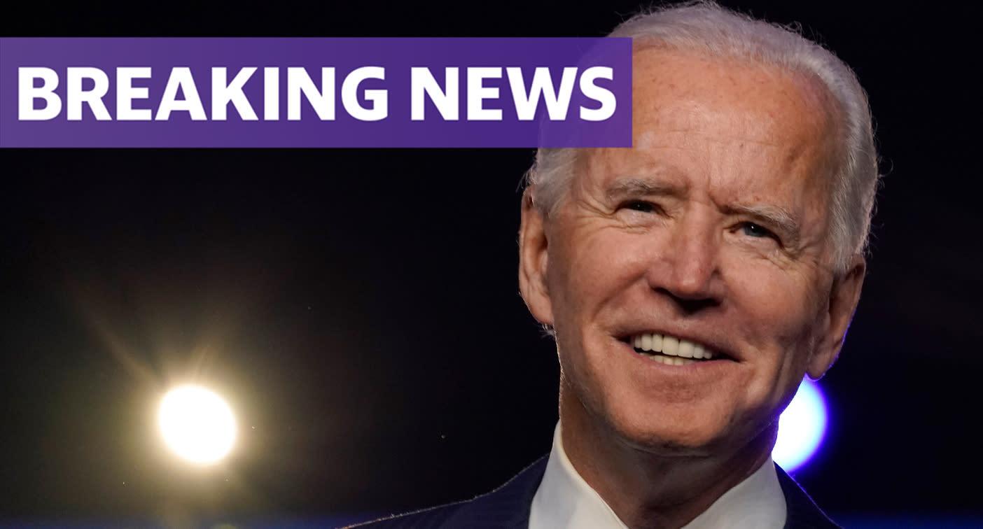 Joe Biden, Kamala Harris hail 'a new day for America' in victory speech