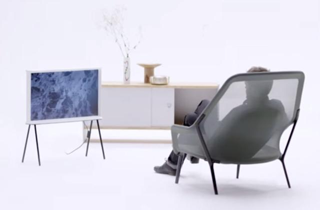 Samsung's bringing back the TV 'set' with the Serif TV