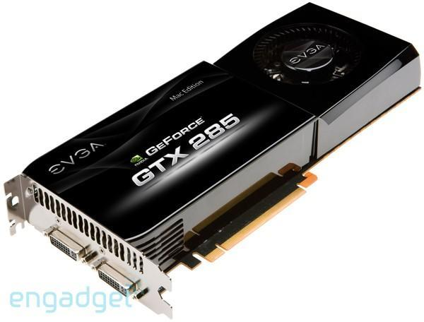 NVIDIA's GeForce GTX 285 coming to Macs in June