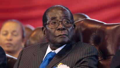 Mugabe granted immunity as part of 'deal'