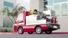 Panasonic's connected miniature fire truck has niches to fill