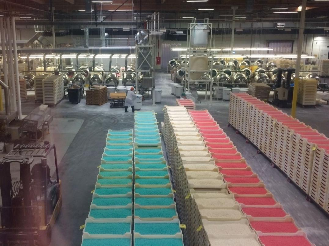 A look inside the famous Jelly Belly factory in Fairfield, CA.