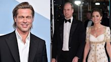 Brad Pitt's BAFTAs Speech Included a Harry Royal Exit Joke—And Kate and William Heard It