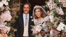 Princess Beatrice stuns in vintage wedding dress