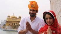 Shraddha and Aditya Kapoor prays for Aashiqui 2