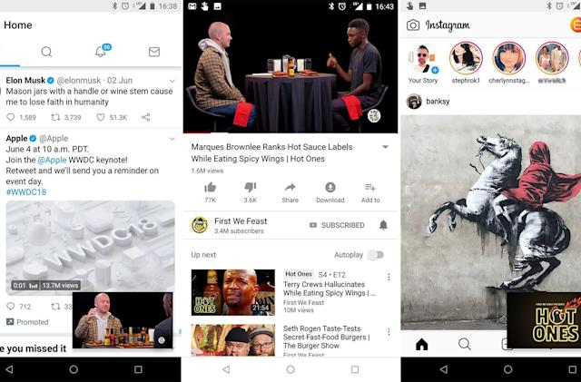 YouTube picture-in-picture is coming to all Android users