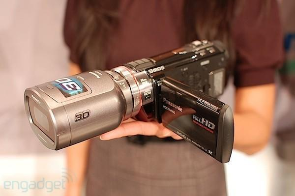 Hands-on with the new Panasonic 3D camcorder and 3D still camera