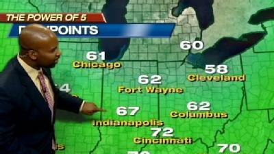 Storms To Bring Downpours, Thunder, Lightning