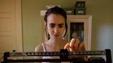 Lily Collins tuvo controles médicos constantes en el rodaje de Hasta los huesos por la anorexia de su pasado