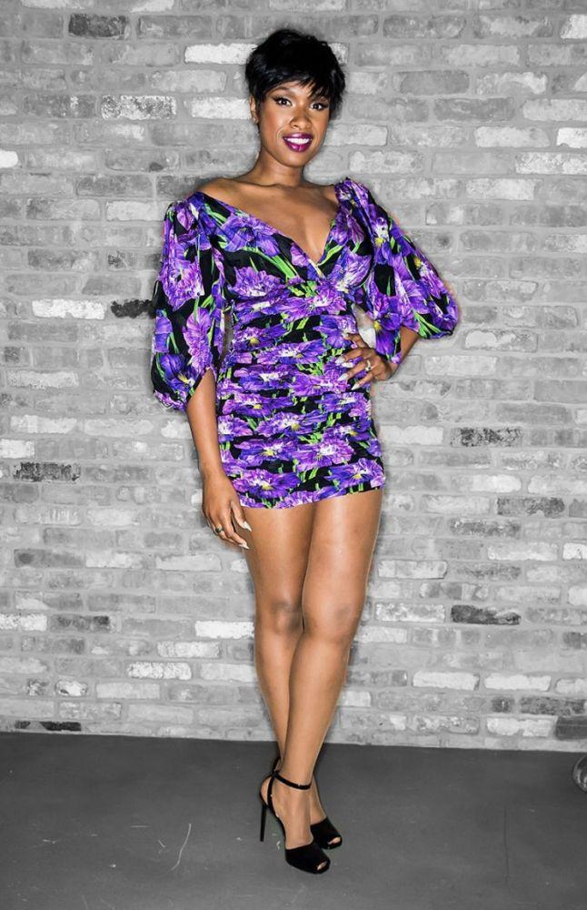 Jennifer Hudson in a Gucci minidress