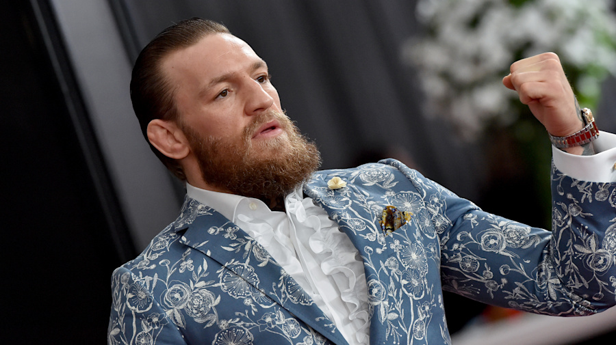 There's a big hole in McGregor's resume