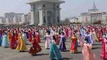 N Koreans mark founder's birthday amid economic difficulties