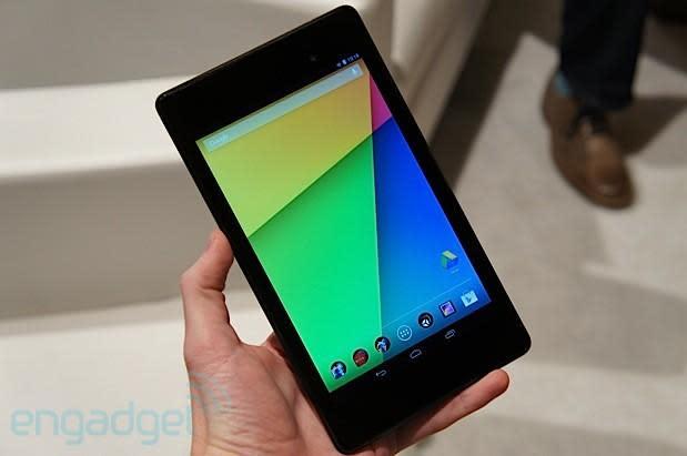 Nexus 7 hands-on (2013) (update: video!)