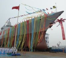 Chinese Navy Gets New Indigenously Built Destroyer