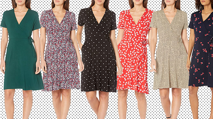 Women are snapping up Amazon's flattering wrap dress for summer