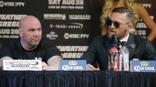 Dana White backs up Conor McGregor for not defending lightweight title, shuts down McGregor-GSP rumors