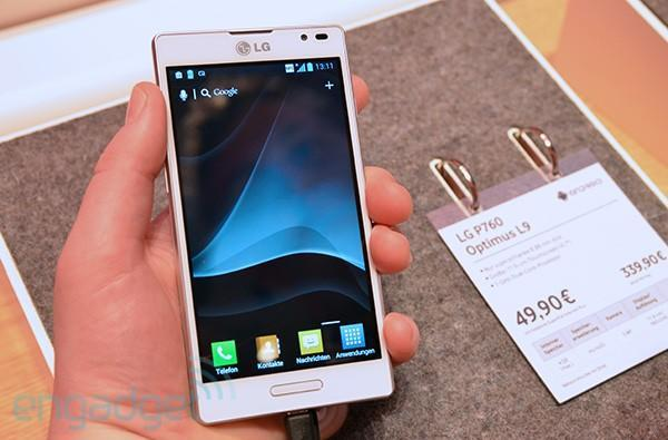 LG Optimus L9 hands-on (video)