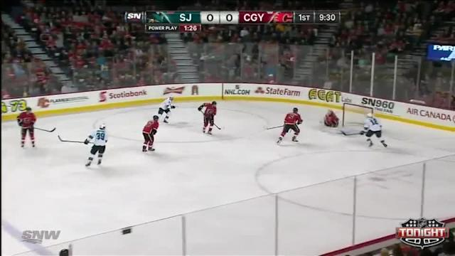 San Jose Sharks at Calgary Flames - 03/24/2014