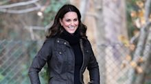 Duchess of Cambridge dresses down in Barbour jacket for spot of gardening