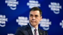"""Sánchez asegura en Davos que el gobierno español aplicará el """"rigor fiscal"""""""