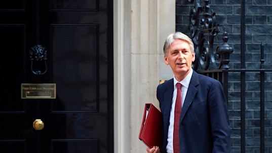 Philip Hammond put in charge of Britain as Brexiteers sent packing