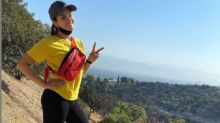 Sunny Leone Walks 14km, Shares Picture on Instagram