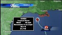 Tropical Storm Karen weakens; TS watches canceled