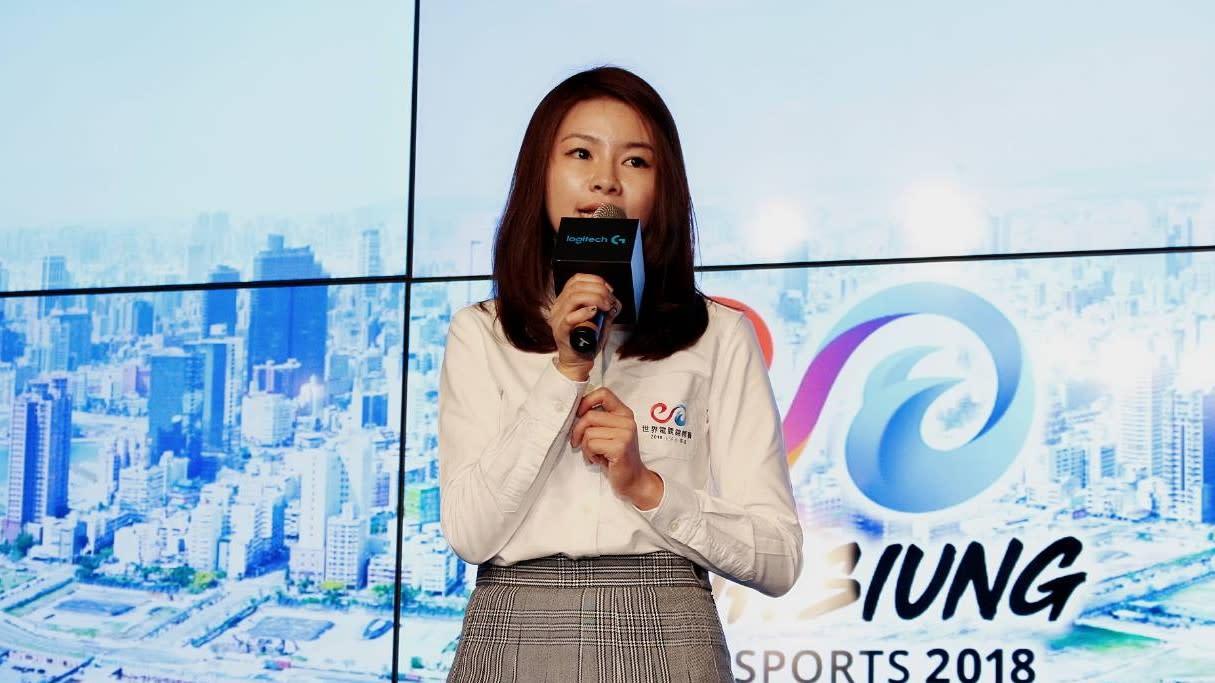 CTESA理事長徐培菁表示電競在產官學合作下能幫助孩子實現夢想。
