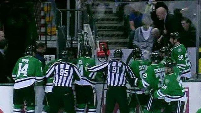 NHL player suffers cardiac event during game