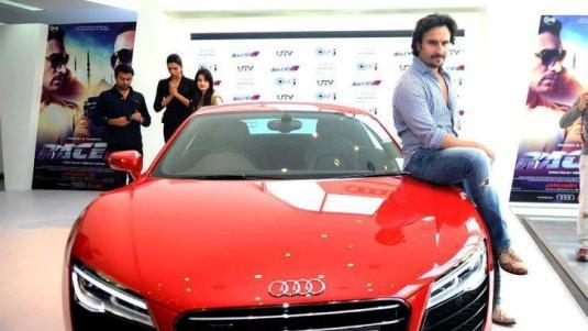 Saif Ali Khan's new red toy