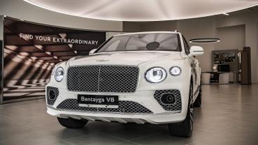 古典美學層峰休旅,小改款 Bentley Bentayga 1080 萬起正式上市
