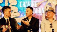 Donnie Yen aggravated old injury playing Crippled Ho