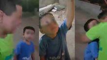 El conmovedor video de un niño gritándole a una estrella como si fuera su mamá